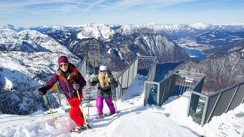 Snöskovandring Skidresa Österrike