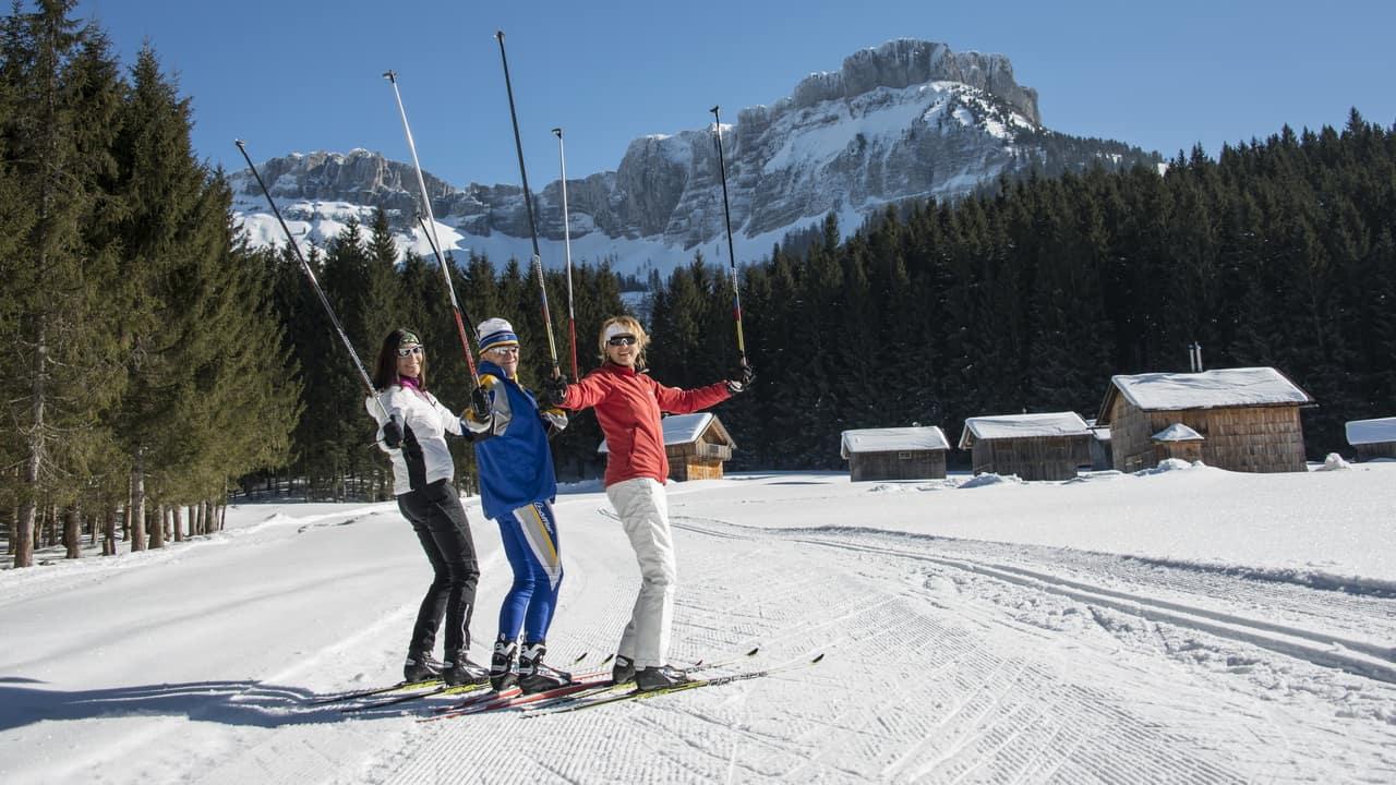Längdåkning skidsemester Austria Travel