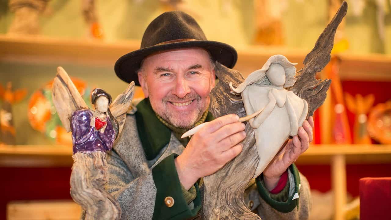 Christkindl advent julmarknad Salzburg vinter semester adventsmarknad Österrike konsthandwerk