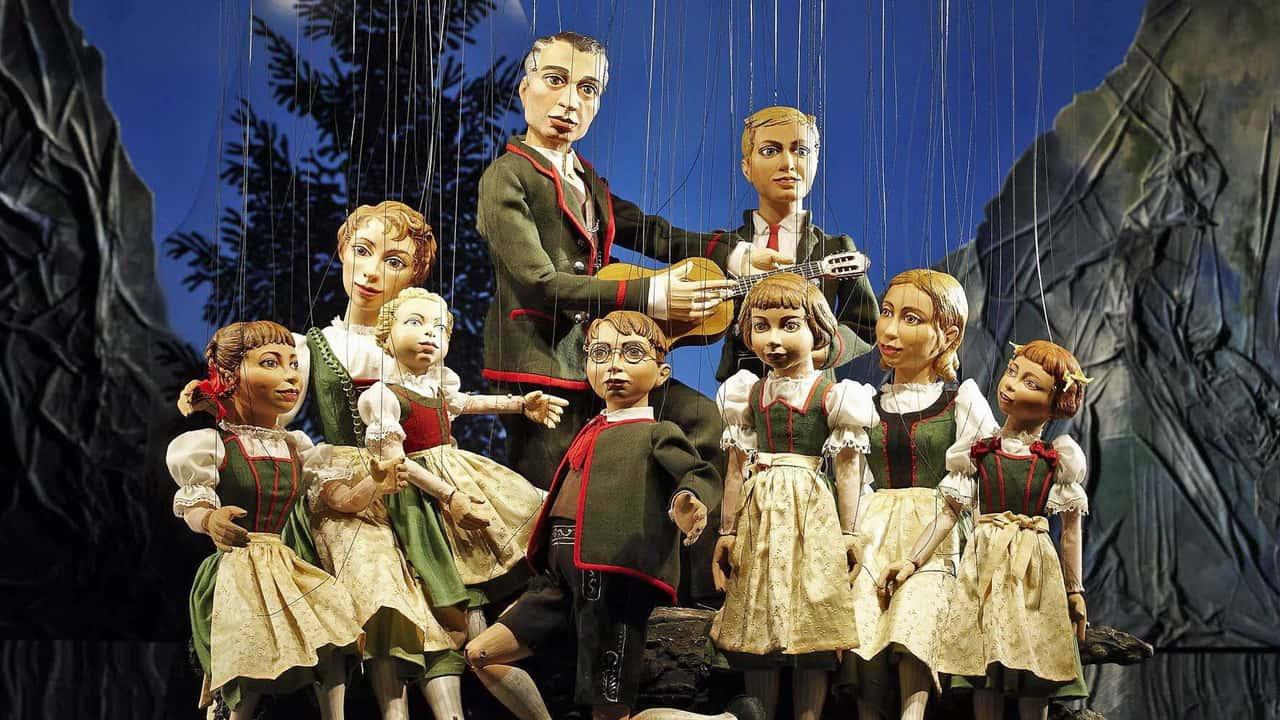 Von Trapps Marionettentheater SOM Salzburg Österrike