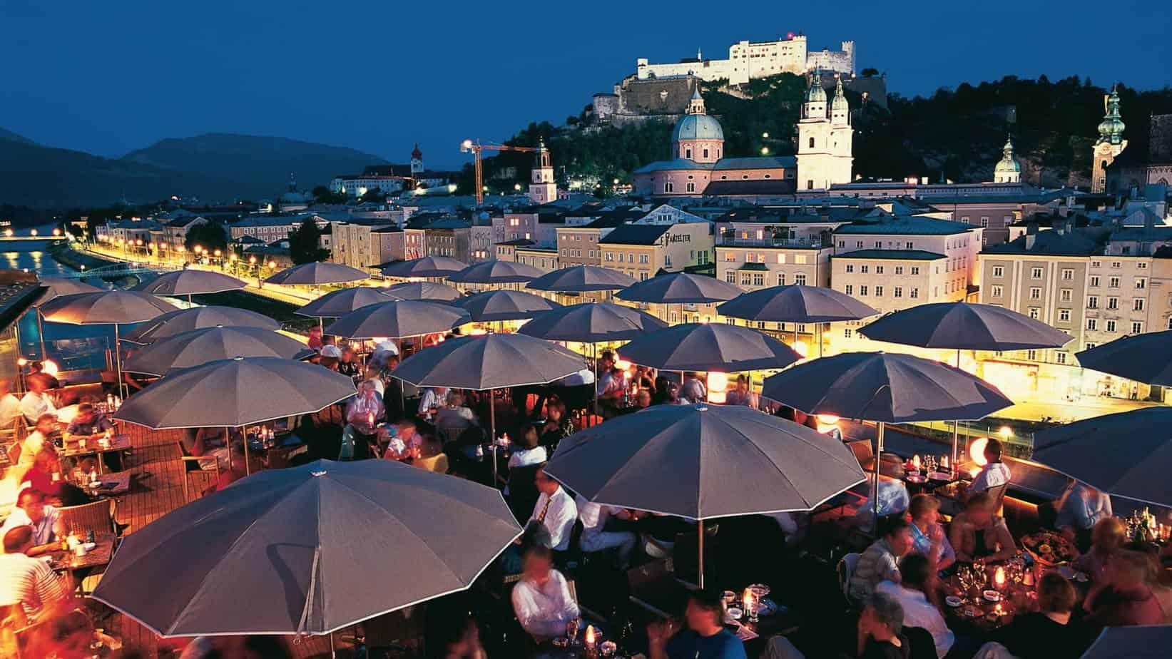 Salzburg mingel mat kväll