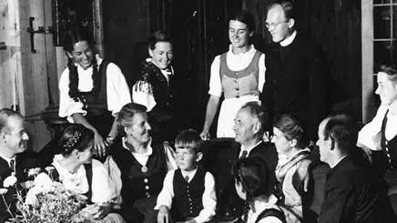 Den äkta familjen von Trapp Sound of Music Salzburg