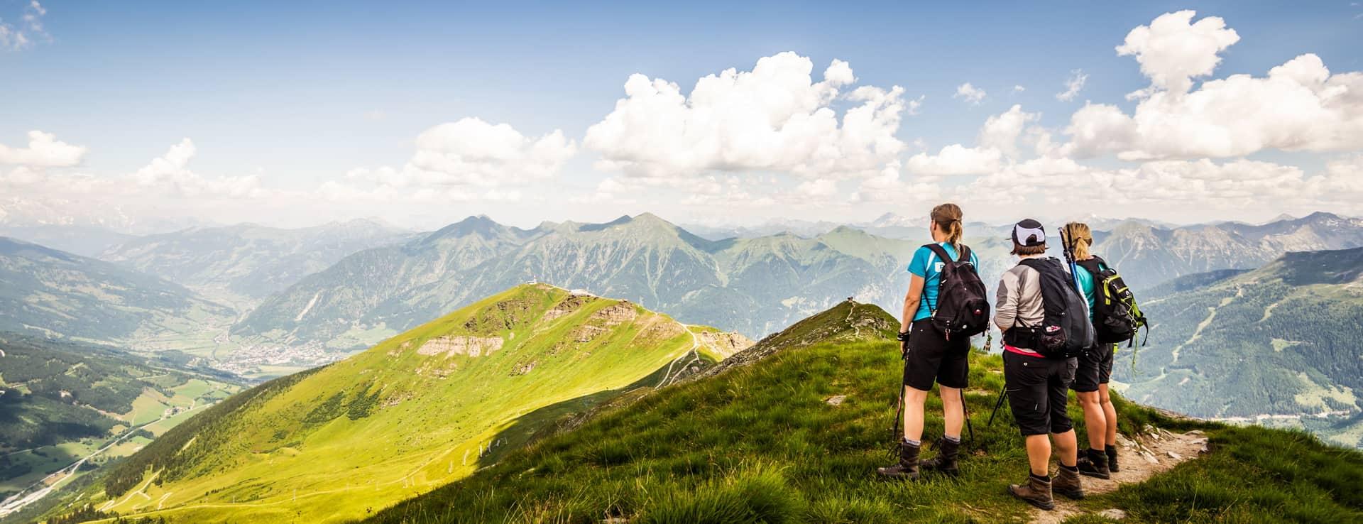 Utsikt över Gasteinerdalen Gasteinertal Österrike