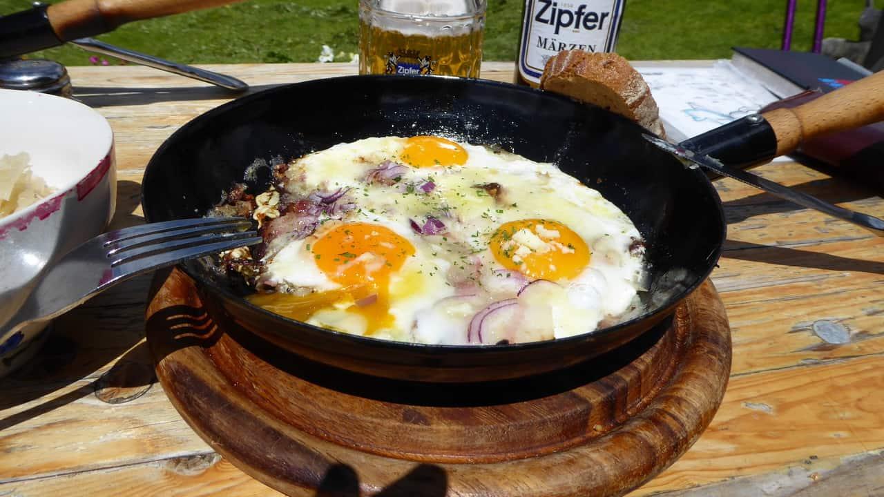 Pikante Eierspeis © Austria Travel - Rusner Semester i Österrike