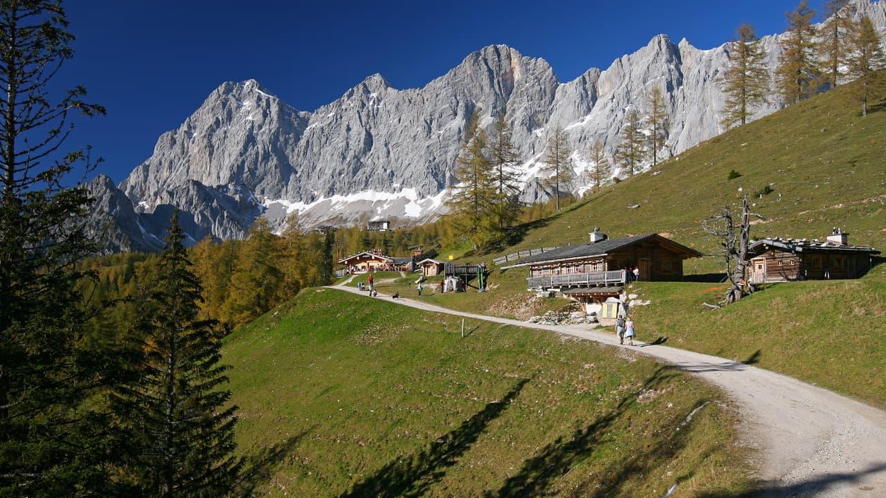 Vandra i Ramsau semester i Österrike