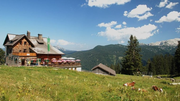 Gablonzerhütte Zwieselalm Semester i Gosau