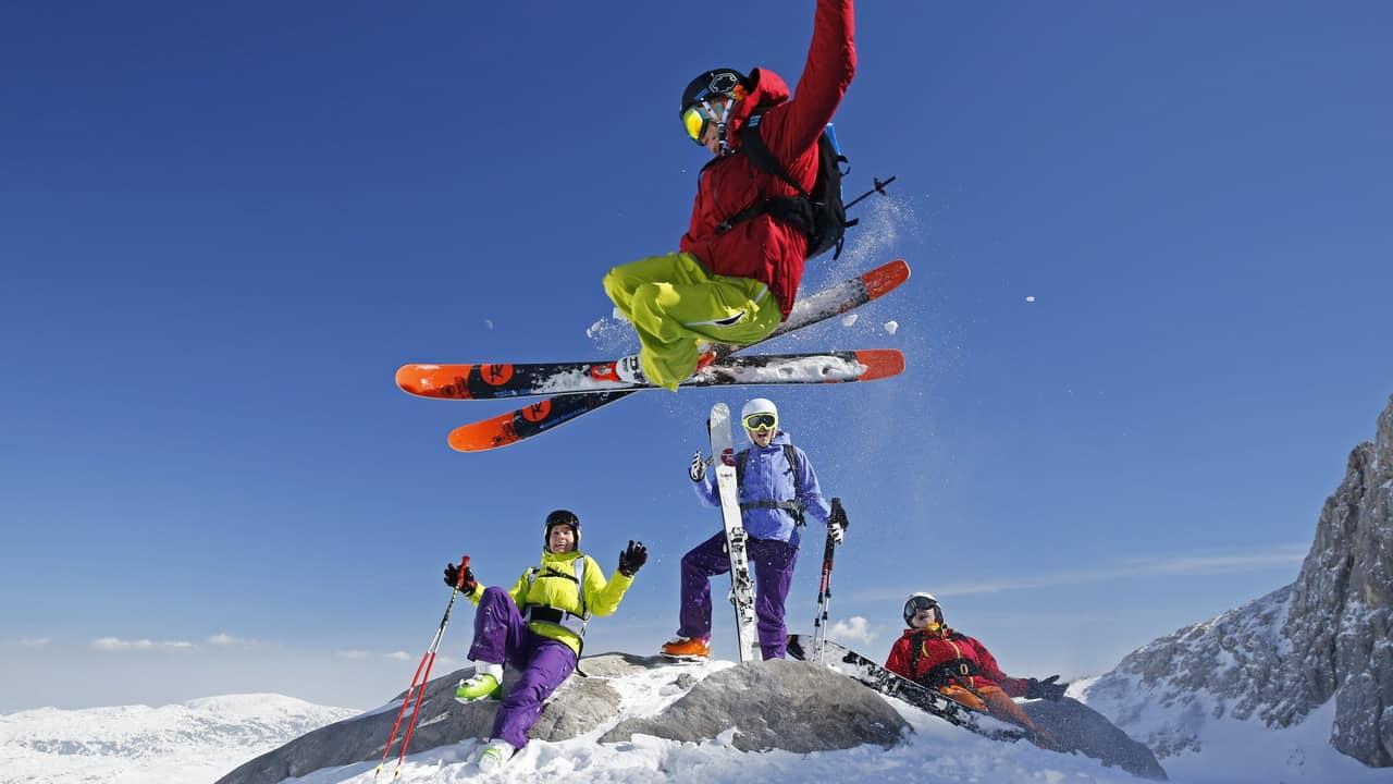 Freeride Schladming Dachstein Semester vinter i Österrike