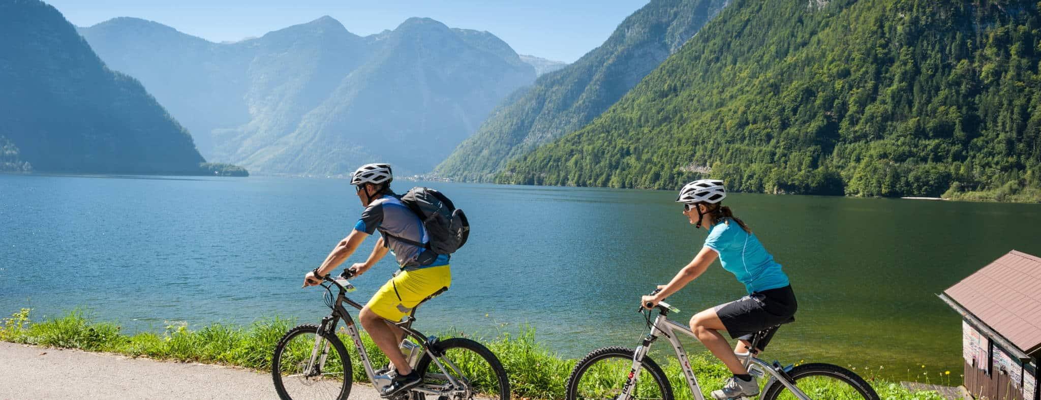 Cykling på egen hand Österrike Hallstatt