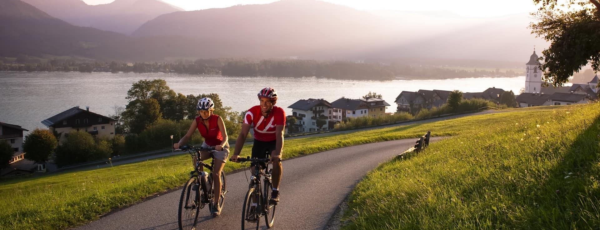 Cykla i Salzkammergut