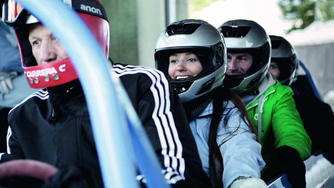 Innsbruck Tirol Gästebob Semester i Österrike