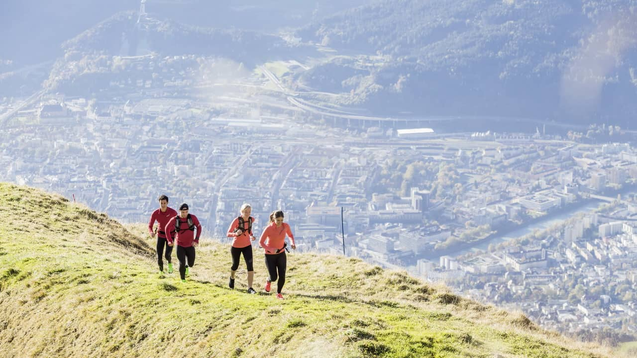 Innsbruck Nordkette Trailrunning Semester i Österrike Tirol