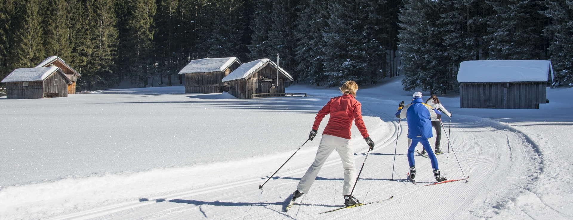 Längdåkning Blaa Alm Ausseerland berg Loser Österrike
