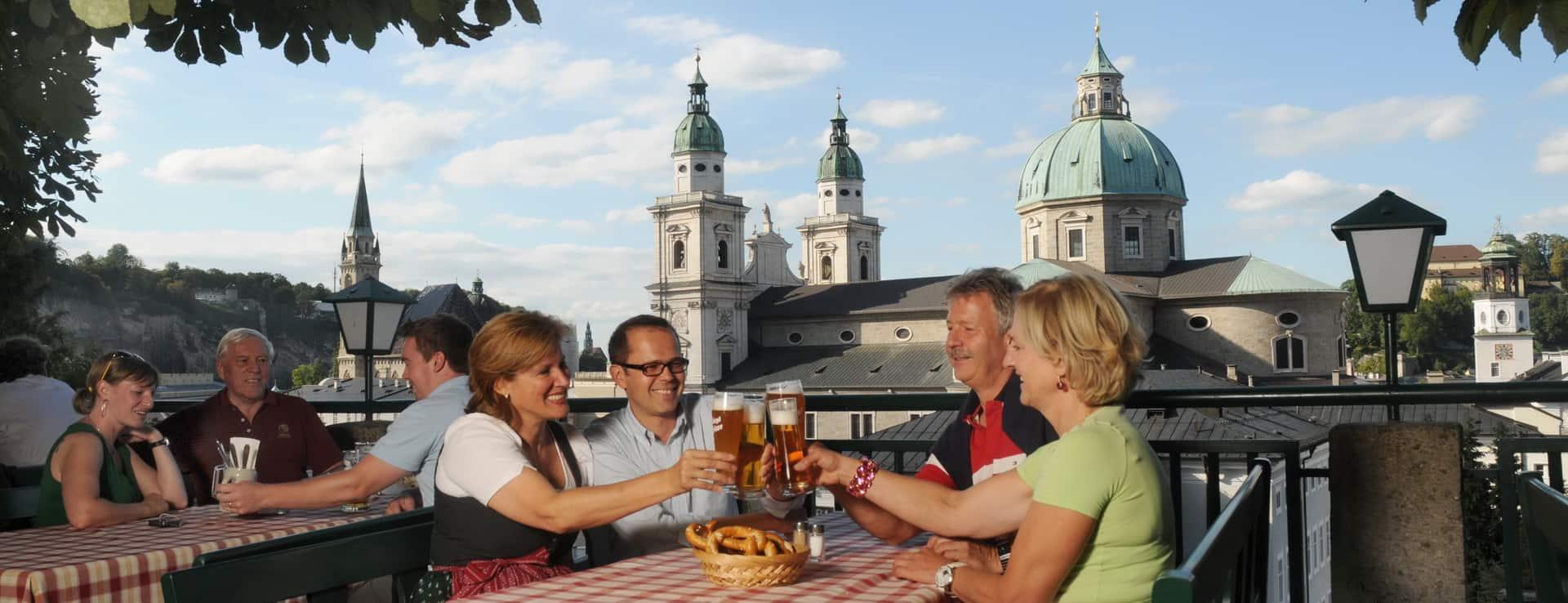 Stieglkeller i Salzburg Semester i Österrike