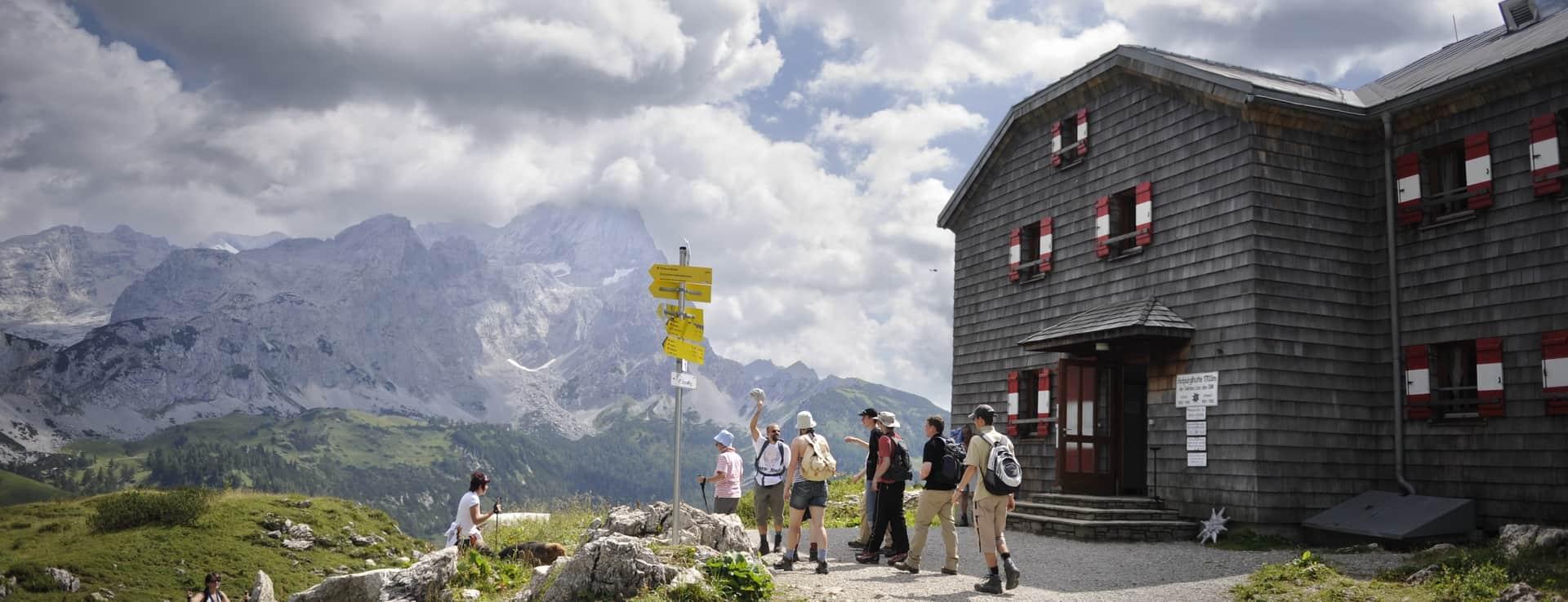 Hofpürglhütte Österrike