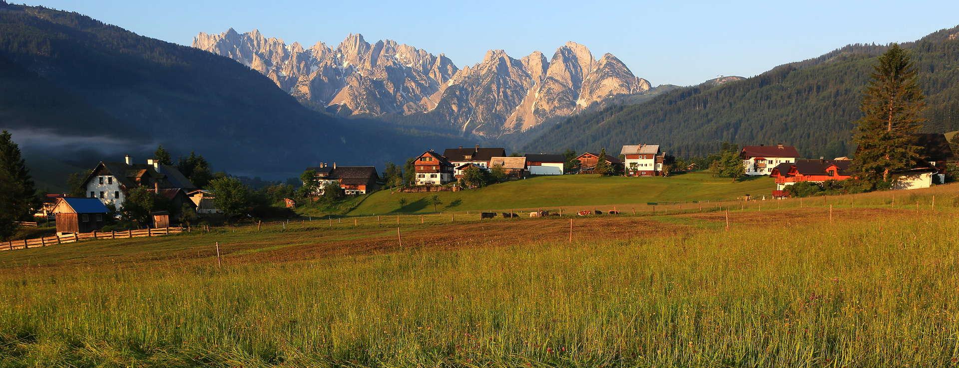 Gosaukamm Dachstein Salzkammergut Österrike
