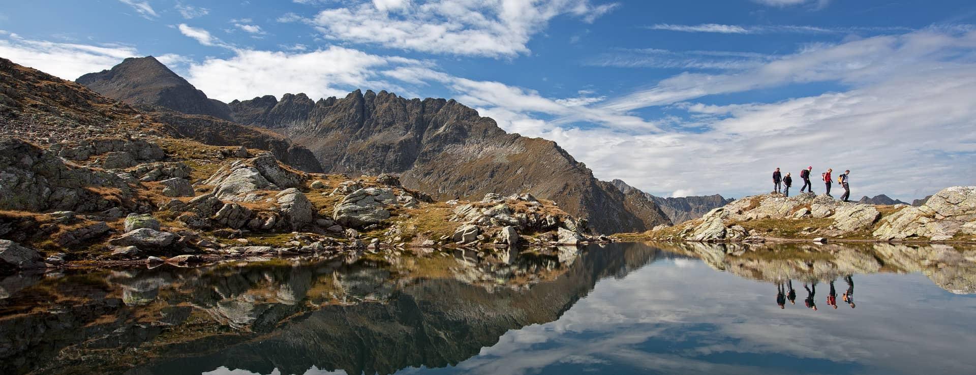 Klafferkessel - Schladming Tauern Höhenweg - vandring semester i Österrike med Austria Travel