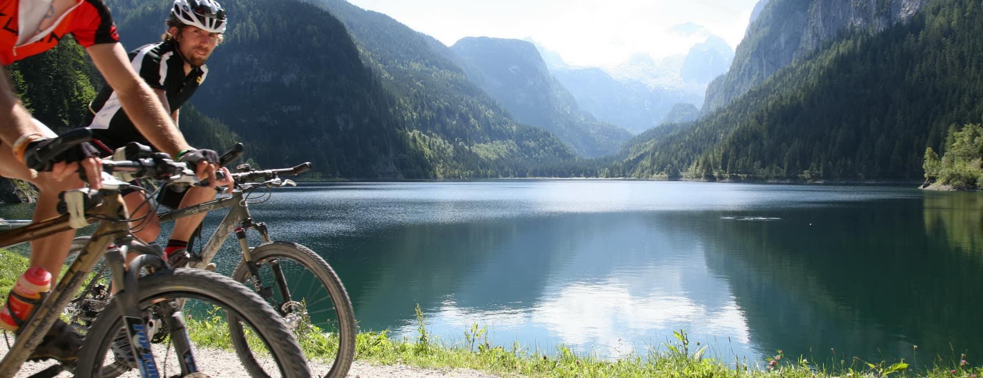 Gosausjön och Dachstein Österrike