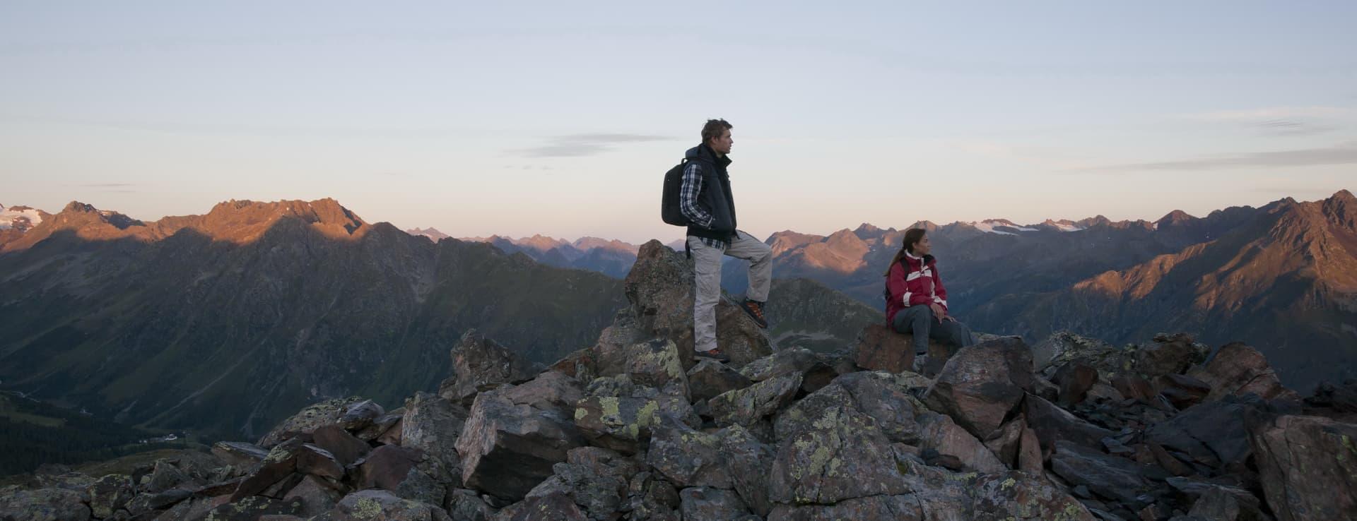 Vandring Ischgl Semester i Österrike Tirol
