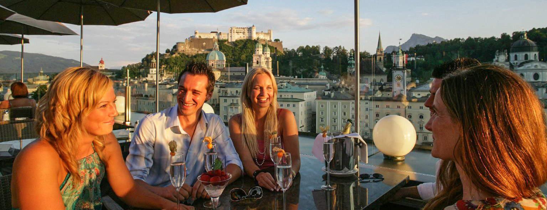 Mingel i Salzburg Semester i Österrike