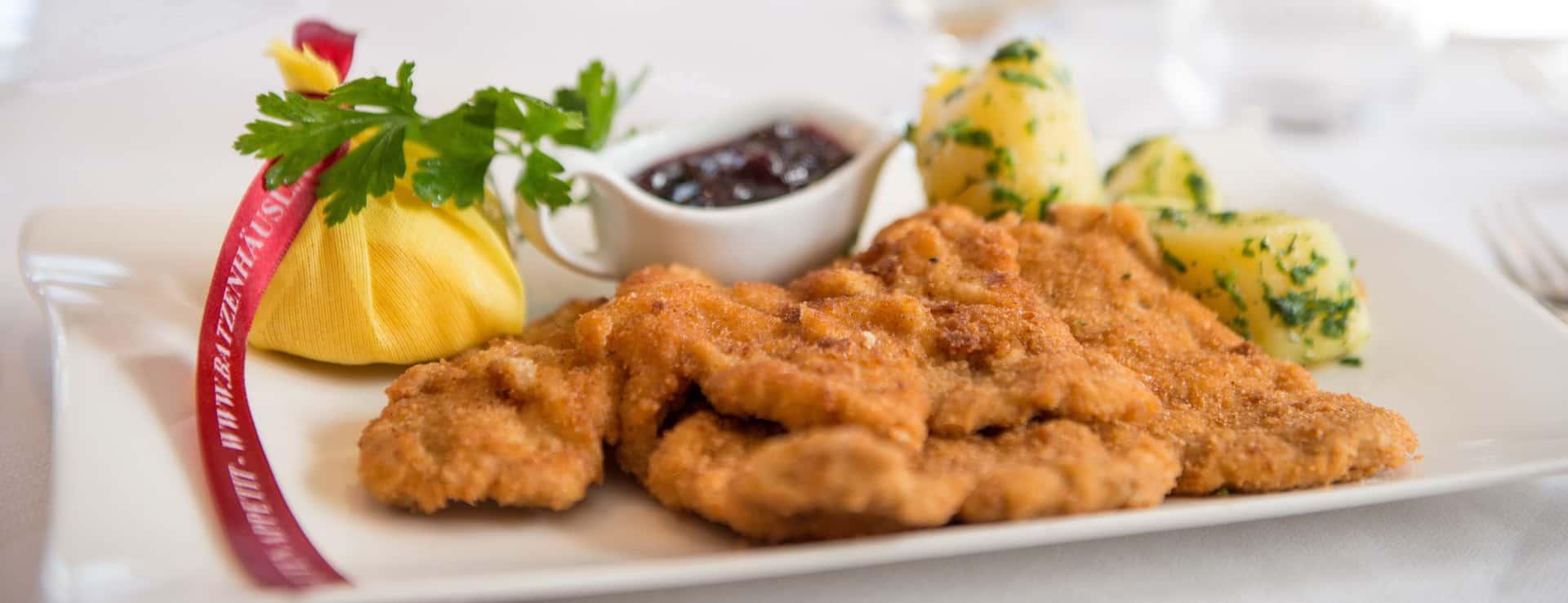 Wiener Schnitzel Semester i Österrike
