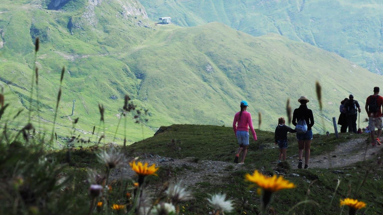Vandringsgrupp med guide Ischgl