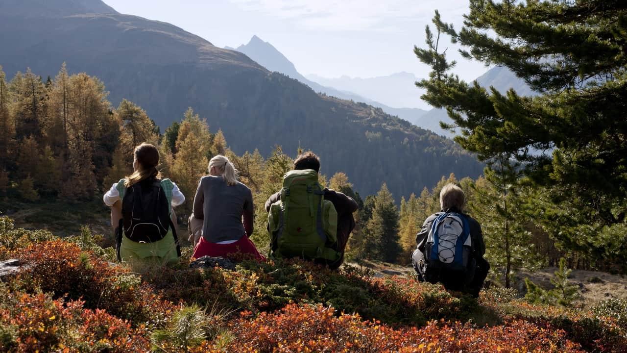Ischgl vandring med guide Semester i Österrike