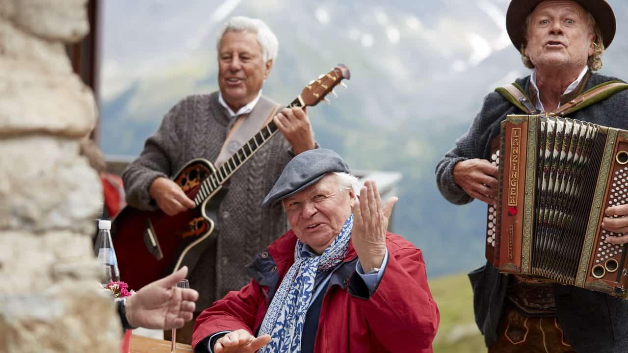 Ischgl Feschaks Paznaun Tirol Semester i Österrike