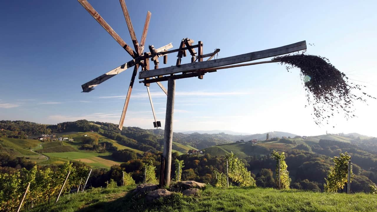 Vinparadis Steiermark Cykla Cykling Semester i Österrike