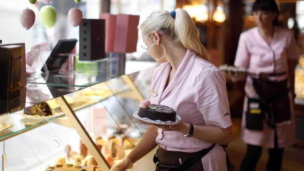 Caféer i Wien - Konditori Aida- Semester i Österrike med Austria Travel