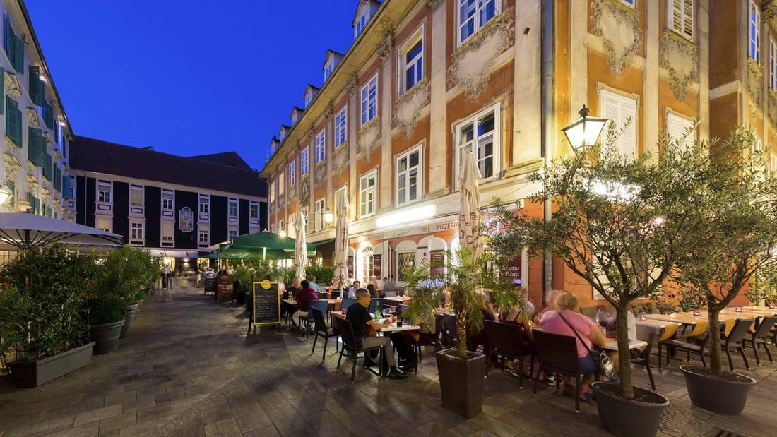 Gamla stan i Graz Steiermark Semester i Österrike