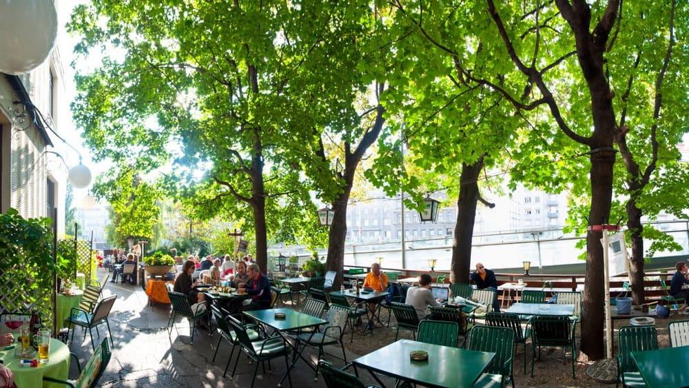 Cafe Rüdigerhof - Caféer i Wien - Semester i Österrike med Austria Travel