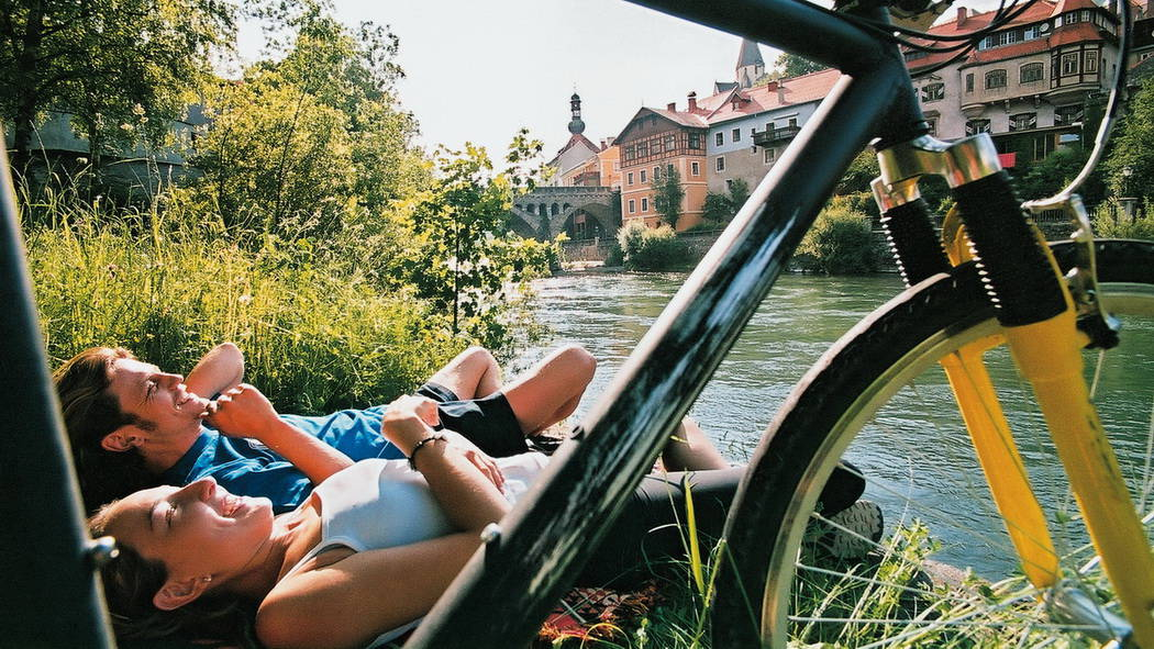 Cykling Steiermark Murweg Österrike