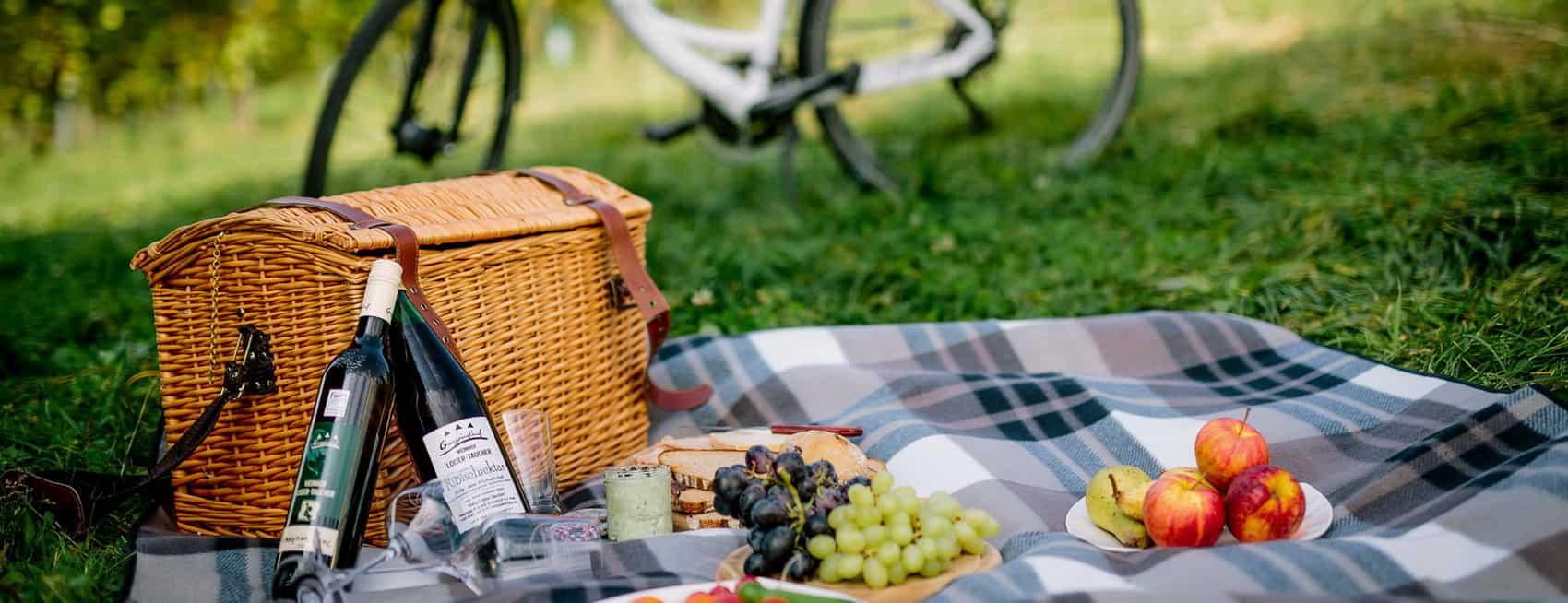 Picknick St. Ruprecht an der Raab - Cykelsemester i Österrike med Austria Travel
