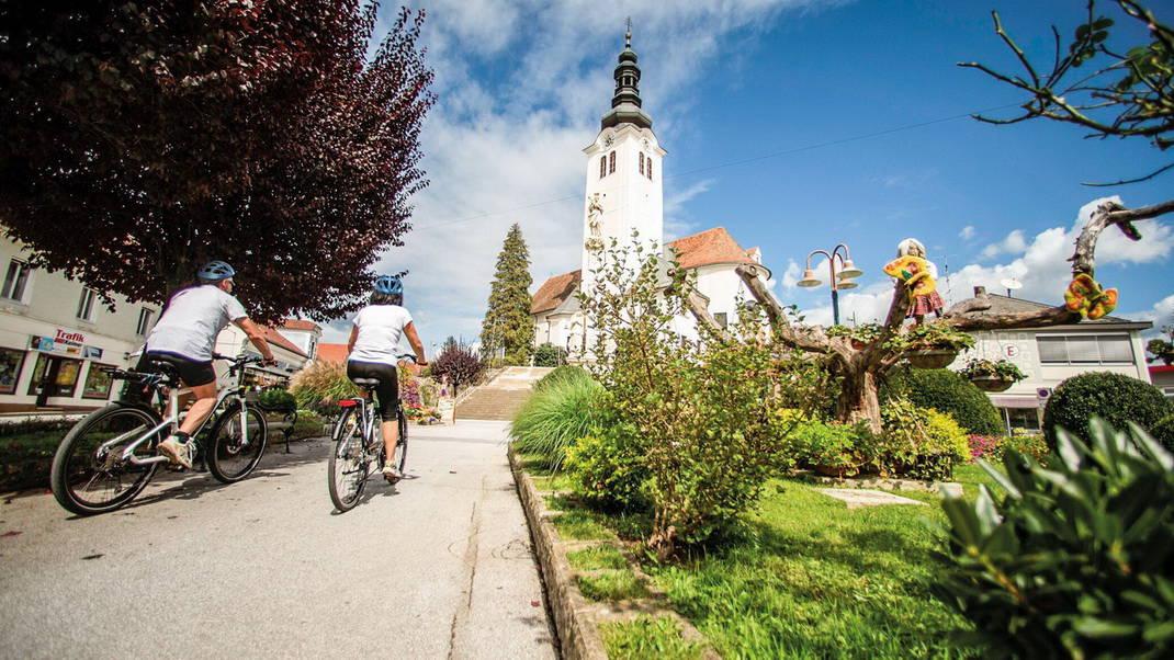 Cykelresa Steiermarks vulkanregion