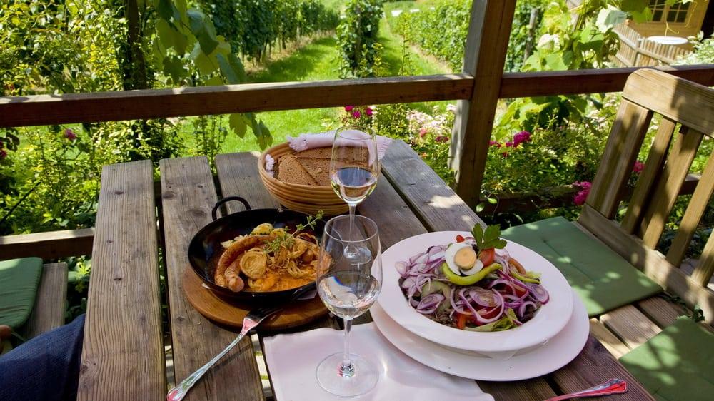 God mat på Weinhof Wippel - Vinvandring i Steiermark med Austria Travel