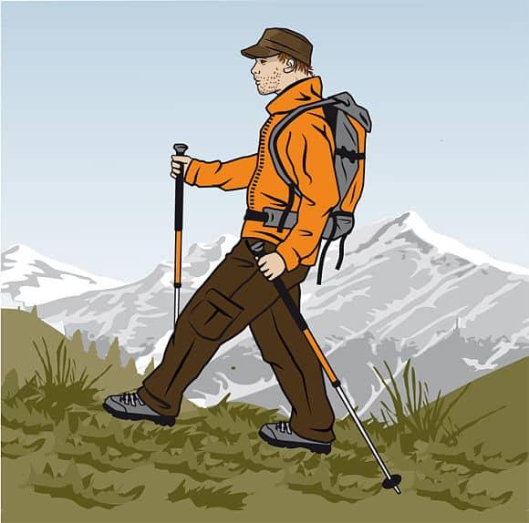 Rätt gång med vandringsstavar - Vandra i Österrike med Austria Travel