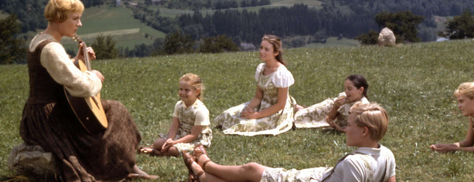Sound of music - Julie Andrews med barnen - Upptäck Österrike och Salzburg med Austria Travel