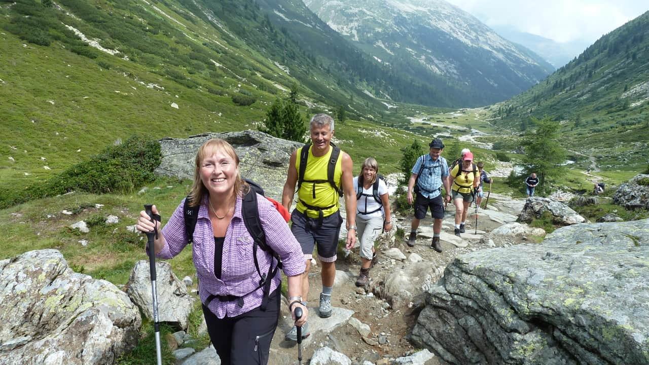 Vandringsstavar i Zillerdalen © Austria Travel - Rusner