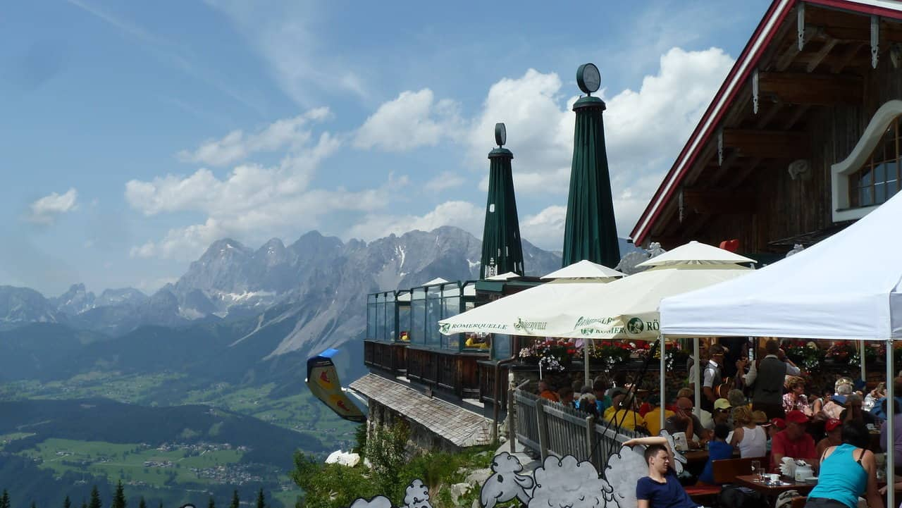 Äntligen framme i Planai © Austria Travel - Rusner
