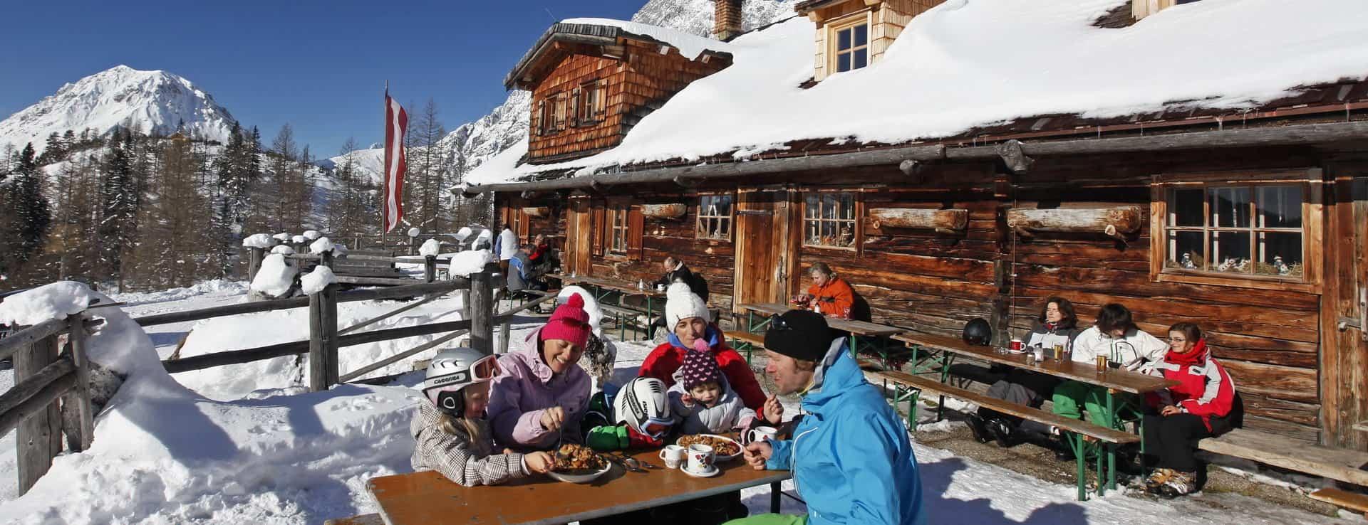 Skidsemester med Austria Travel - Paus i mysig Hütte