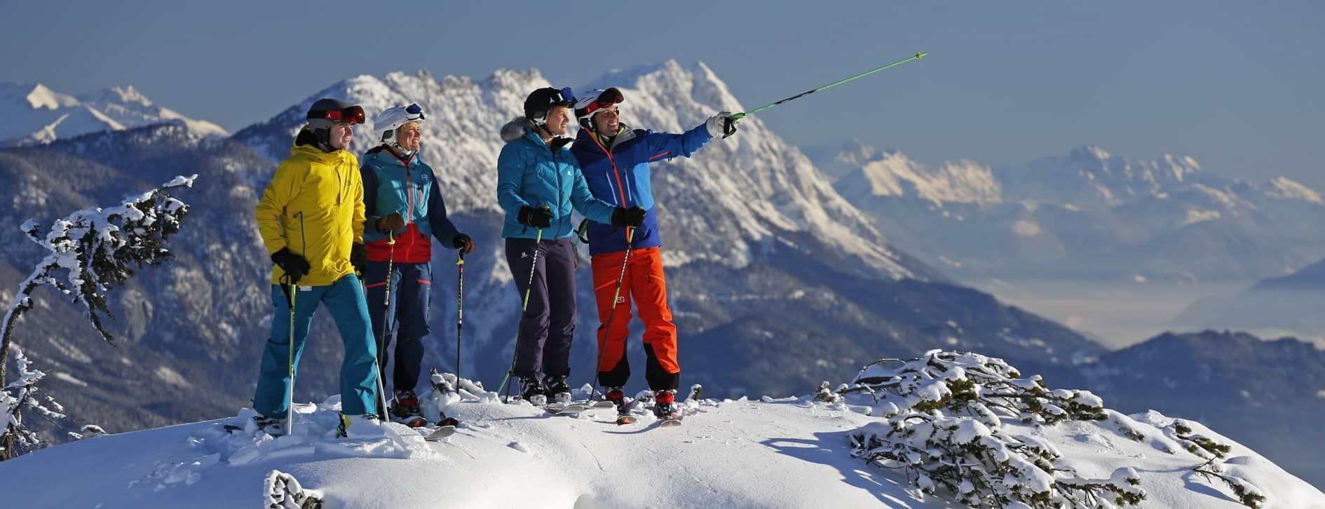 Skidresor och skidsemester med Austria Travel - Härlig utsikt
