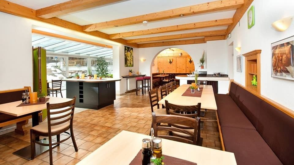 Skidsemester i Bad Hofgastein med Austria Travel - Park Hotel Gastein - Restaurang