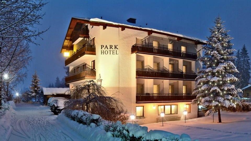 Skidsemester i Bad Hofgastein med Austria Travel - Park Hotel Gastein - Vinterbild