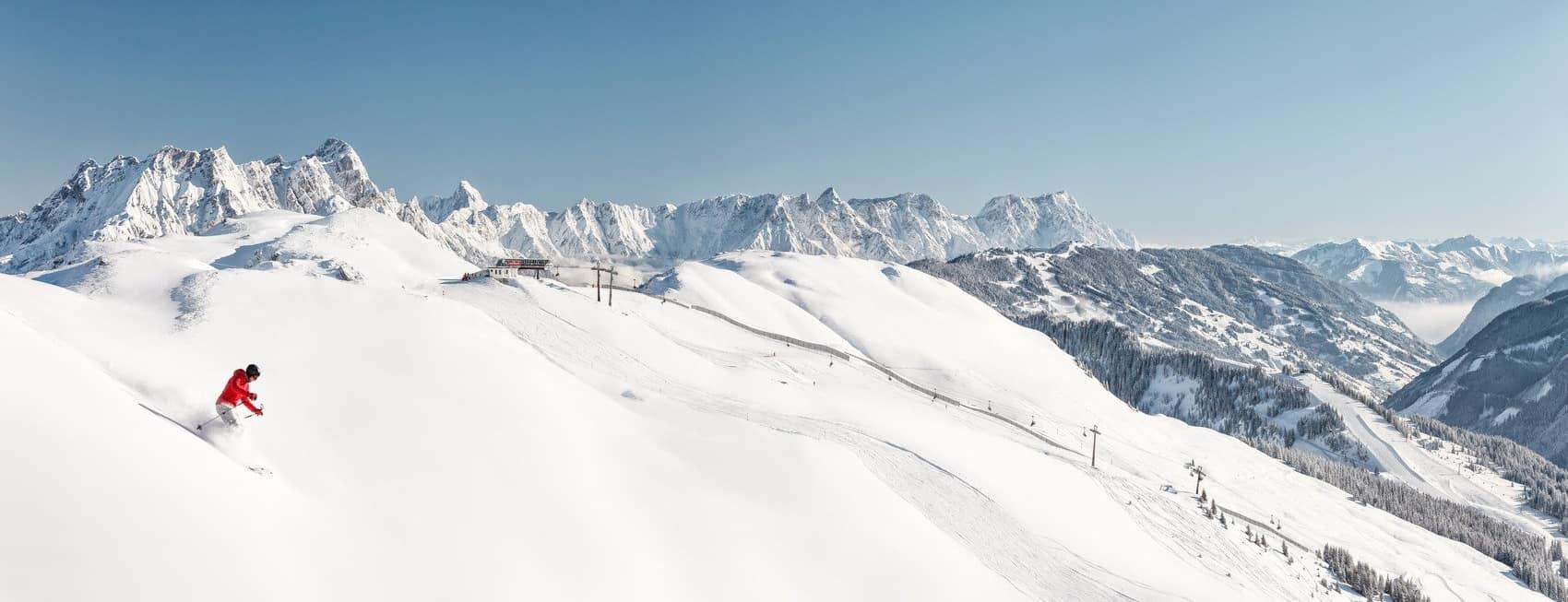 Skidsemester med Austria Travel - Skicircus Saalbach-Hinterglemm-Leogang- Fieberbrunn-Zell am See-Kaprun