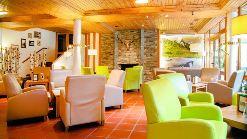Skidsemester i Bad Hofgastein med Austria Travel - Hotel Gastein - Lounge