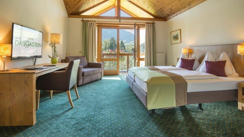Skidsemester i Bad Hofgastein med Austria Travel - Hotel Gastein - Rum1