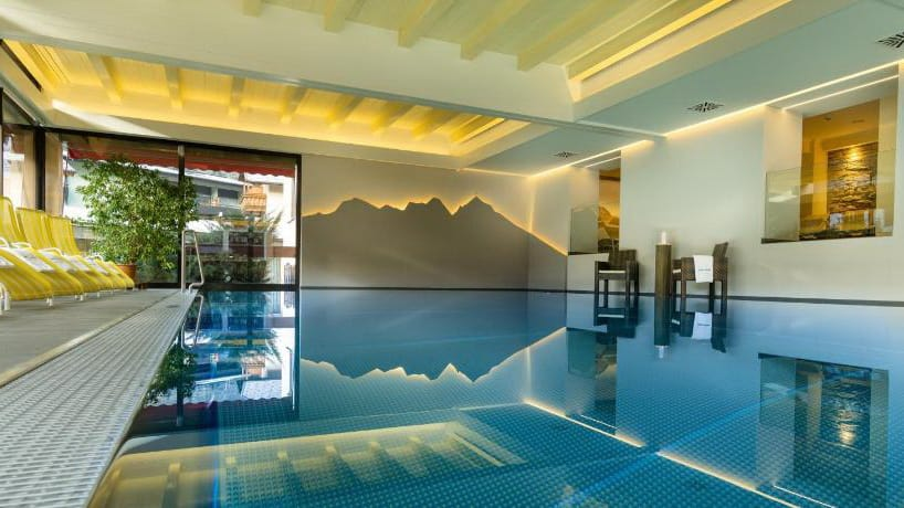 Skidsemester i Bad Hofgastein med Austria Travel - Hotel Alpina - Pool