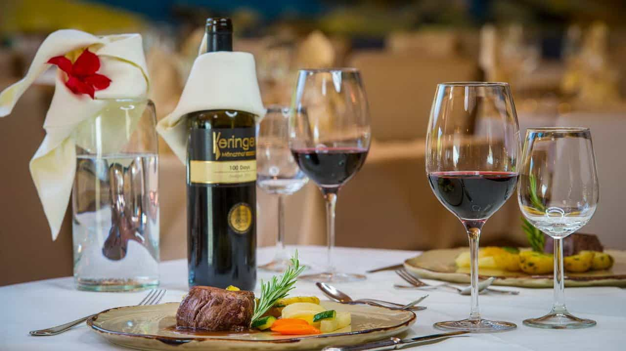 Skidsemester i Bad Hofgastein med Austria Travel - Hotel Gastein - middag