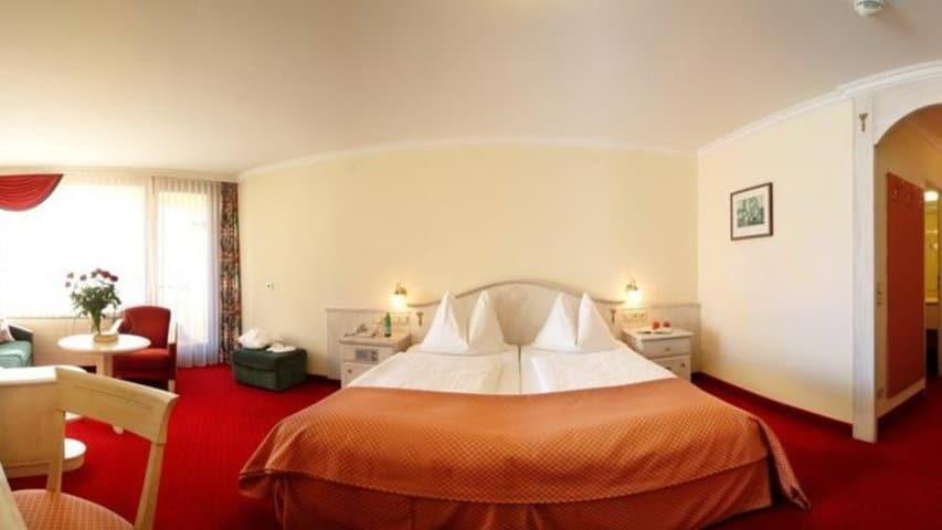 Skidsemester i Bad Hofgastein med Austria Travel - Hotel Norica - Dubbelrum