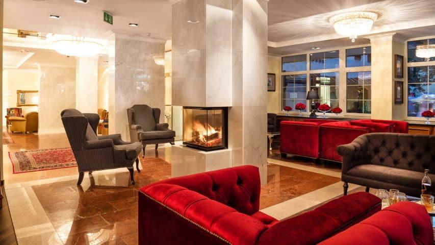 Skidsemester i Bad Hofgastein med Austria Travel - Hotel Norica - Lobby